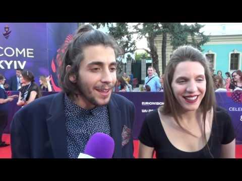 Eurovision 2017 - Red carpet - Portugal - Salvador Sobral