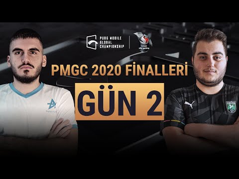 [TR] PMGC Finalleri 2. Gün | Qualcomm | PUBG Mobile Global Championship 2020