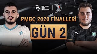 [TR] PMGC Finalleri 2. Gün | Qualcomm | PUBG Mobile Global Championship 2020