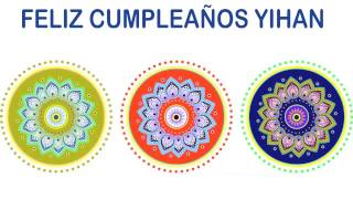 Yihan   Indian Designs - Happy Birthday