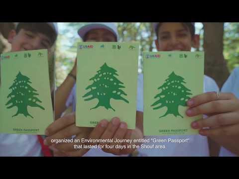 Lebanon Reforestation Initiative - Green Passport Activity 2017