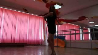 Урок клубной латины. Студия танца J - Loft