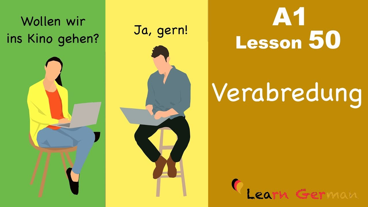 Learn German | Verabredungen | Appointments | German for beginners | A1 - Lesson 50