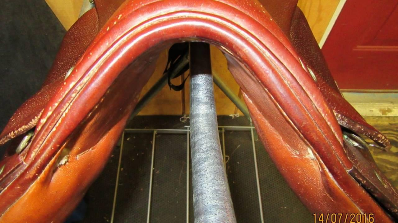 Stubben Tristan Used Dressage Saddle 17