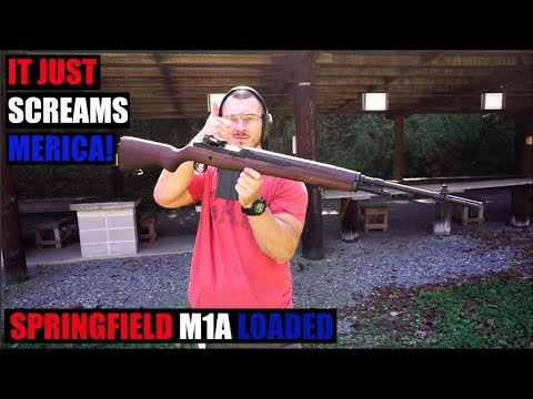 Springfield M1A Loaded (First Impressions)!