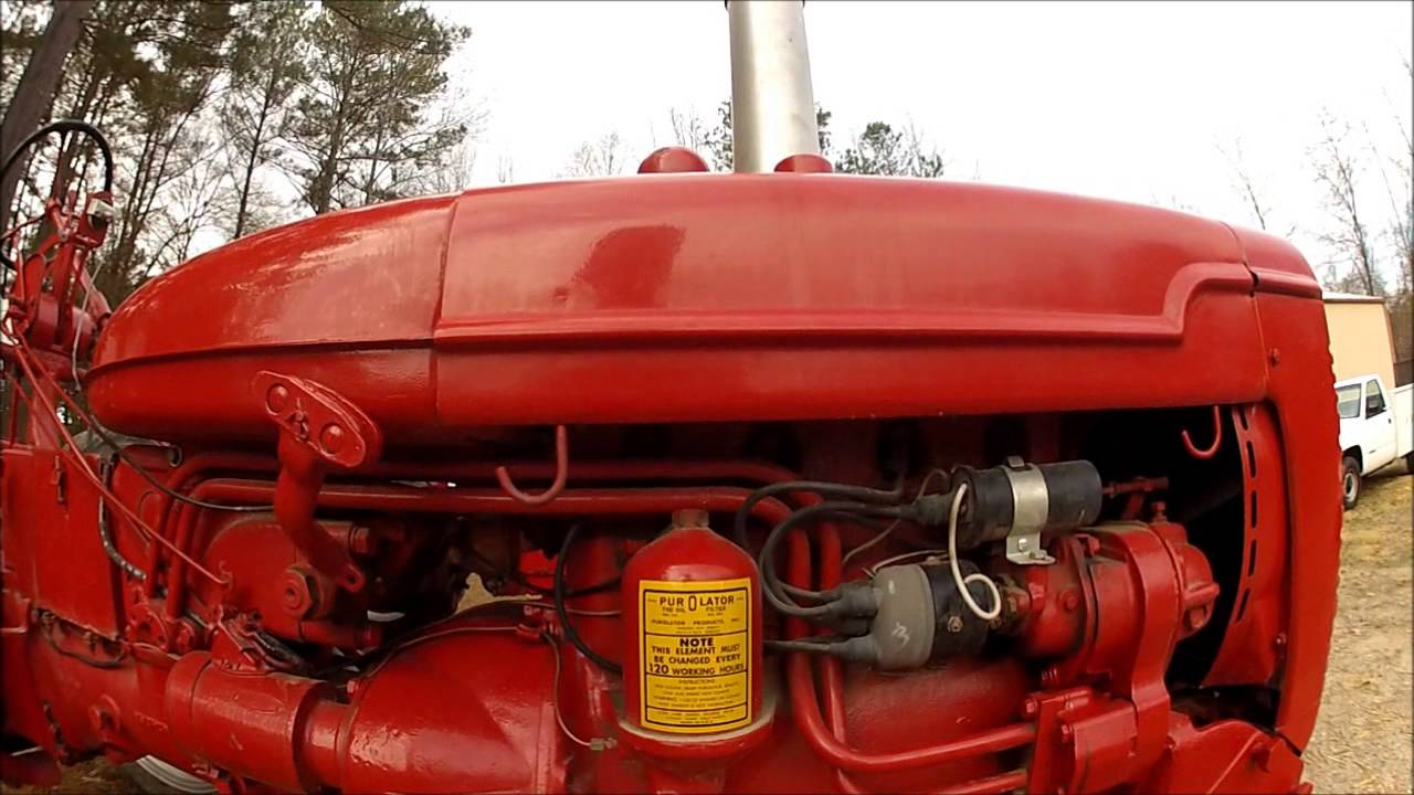 Farmall Super Mta Wiring Diagram Reinvent Your Light Switch C 1950 Walkaround Part 1 Of 3 In The And Rh Youtube