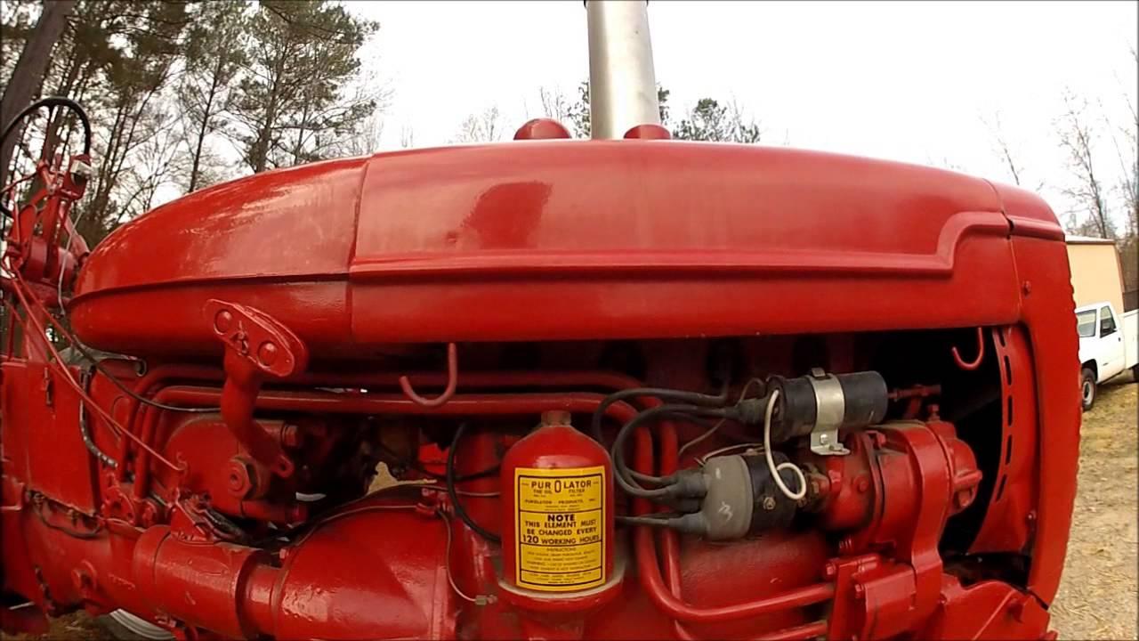 small resolution of 1950 farmall c walkaround part 1 of 3 in the c and super c oil boiler pump farmall c oil pump diagram