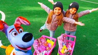 ИГРУШКИ и СЮРПРИЗЫ на ПАСХУ от Зубной Феи Для Детей / Pretend play Toys Egg Hunt by Magic Twins
