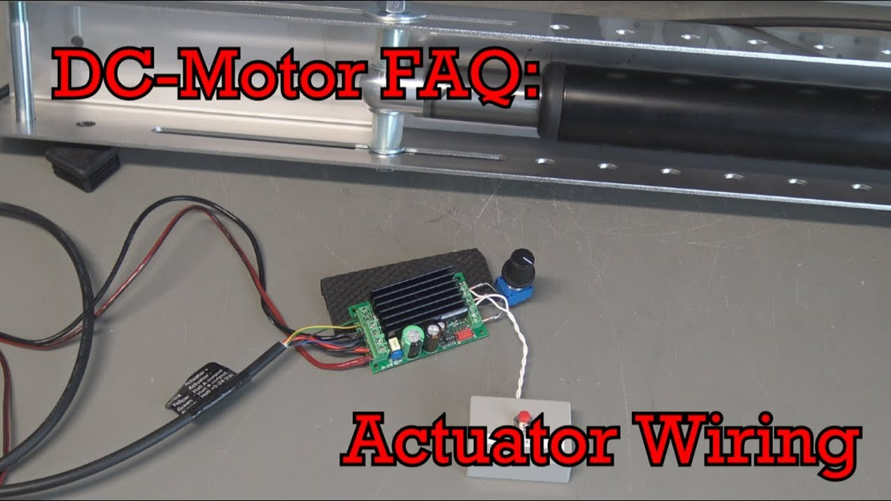 small resolution of dc motor faq linear actuator wiring