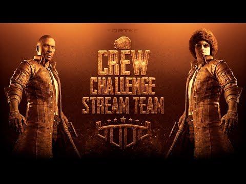 ????Stream Team в Crew Challenge????День шестой????TORTEE PUBG Mobile