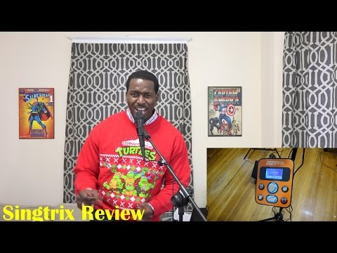 Singtrix Review: Awesome Karaoke for the Holidays!!