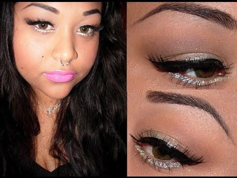 simple nicki minaj makeup look  youtube
