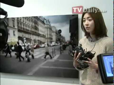 Lee Yeon Hee ~  'Time' Photo Exhibit Interview. PARTE 2 .