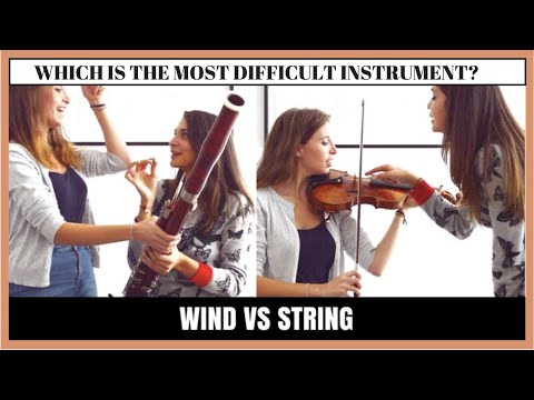 Which is the most difficult instrument?