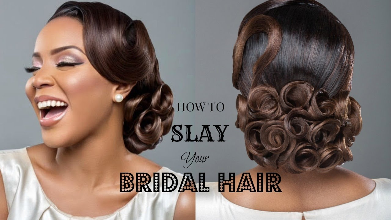 how to slay your bridal hair ft. charis hair