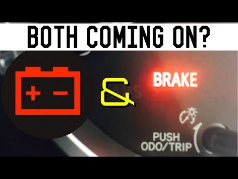 Battery And Brake Light On Dash In The Car - Cause Solved - Infiniti Nissan Toyota Lexus Honda Acura