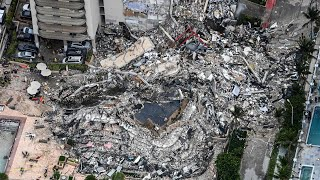 video: Hundreds feared dead, and British mother missing, in Miami building collapse