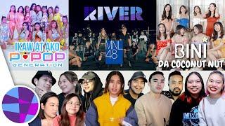 Download lagu FILIPINOS REACT TO P-POP (MNL48, BINI, P-POP GENERATION) 🇵🇭 | EL's Planet