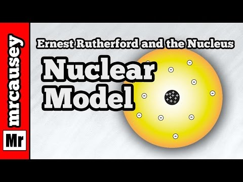 The Nuclear Atomic Model and Ernest Rutherford
