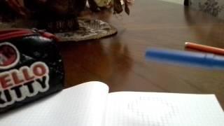Как сделать алмаз по клеткам (урок ном. 6)