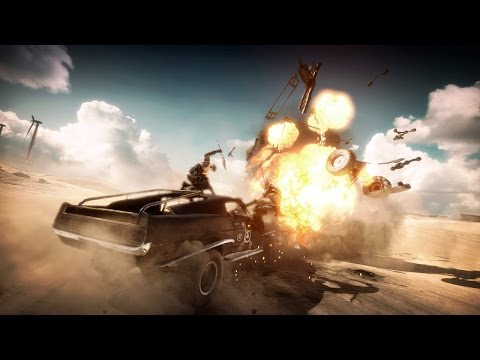 Mad Max Let's Play Walkthrough Part 1 | ALL DAY on the Fury Road | Gameplay