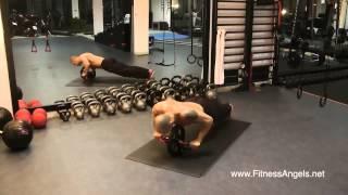 12 упражнений с функциональным роликом Atletika24 (Power Wheel)