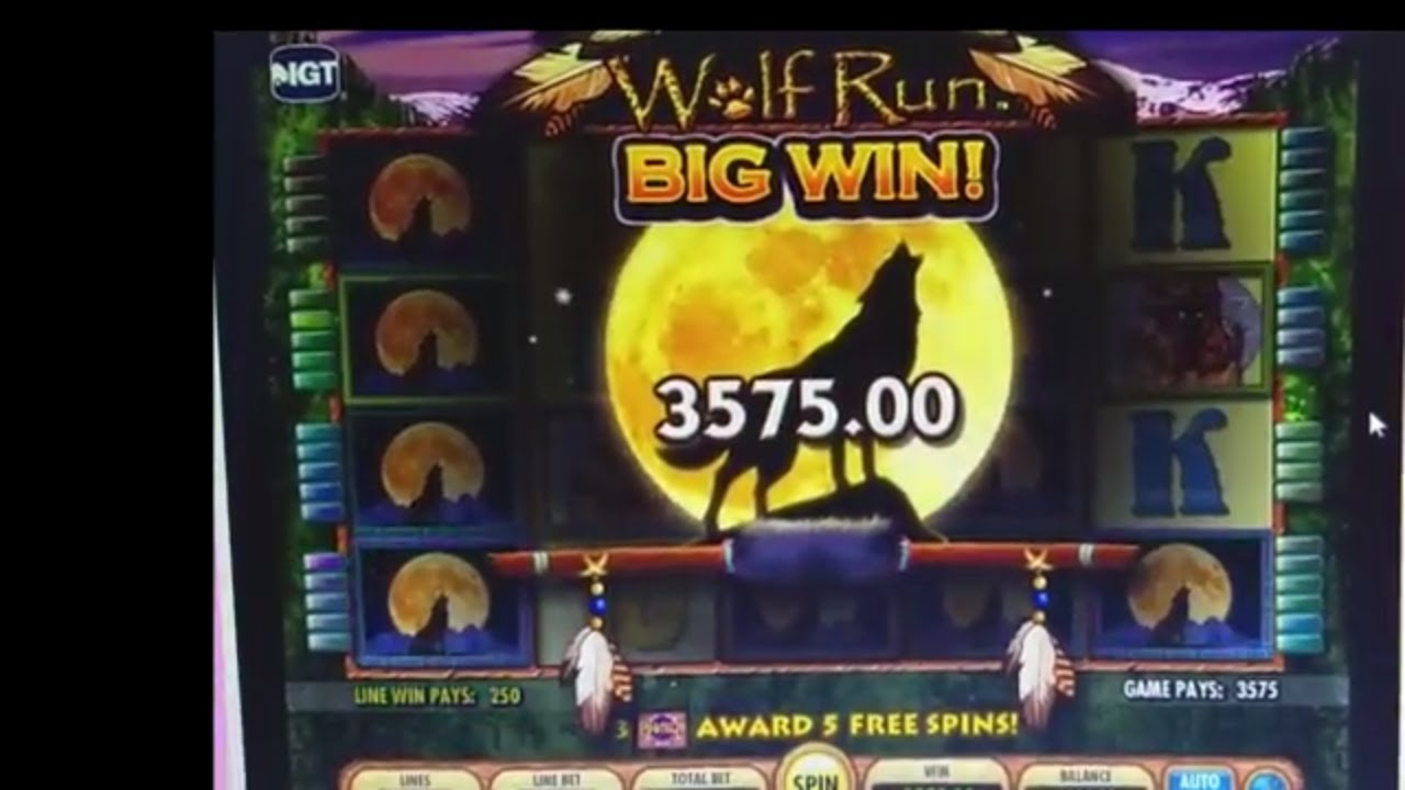 Wolf Run Slot Machine Strategy