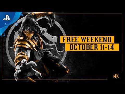 Mortal Kombat 11 - Free Weekend Trailer: Oct. 11-14 | PS4