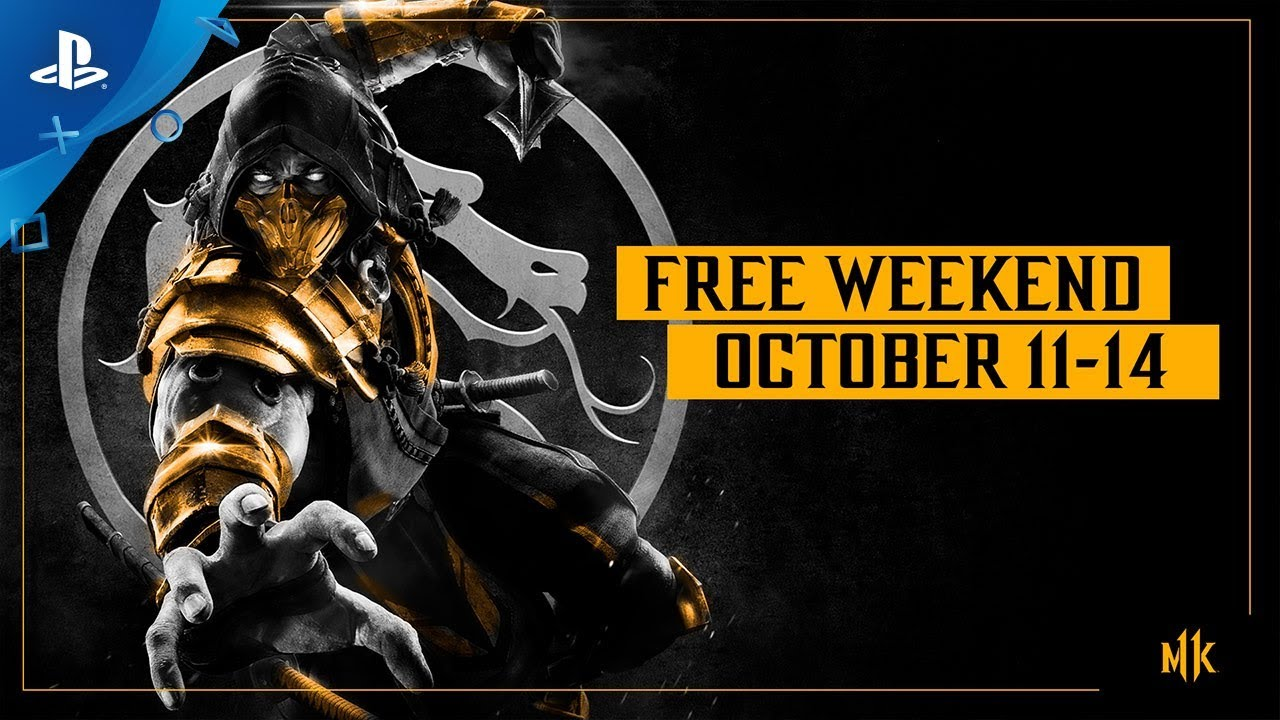 Mortal Kombat 11 - Free Weekend Trailer: Oct. 11-14 | PS4