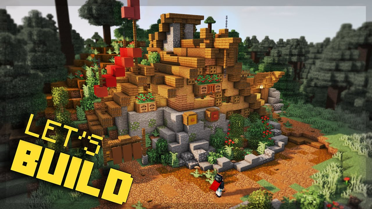 Let's Build A Viking Home! | Minecraft Nordic Village Build Series With MythicalSausage