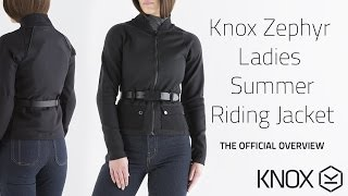 KNOX Zephyr ladies summer riding jacket - The official KNOX overview