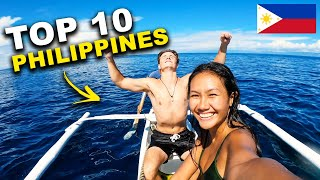 TOP 10 Places YOU MUST visit in the Philippines (Travel Guide)