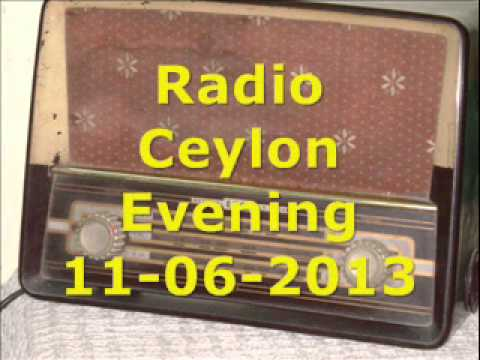 Radio Ceylon Evening Broadcast 11-06-2013