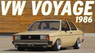 VW Voyage 1986 impressiona no visual mesmo gastando pouco thumbnail