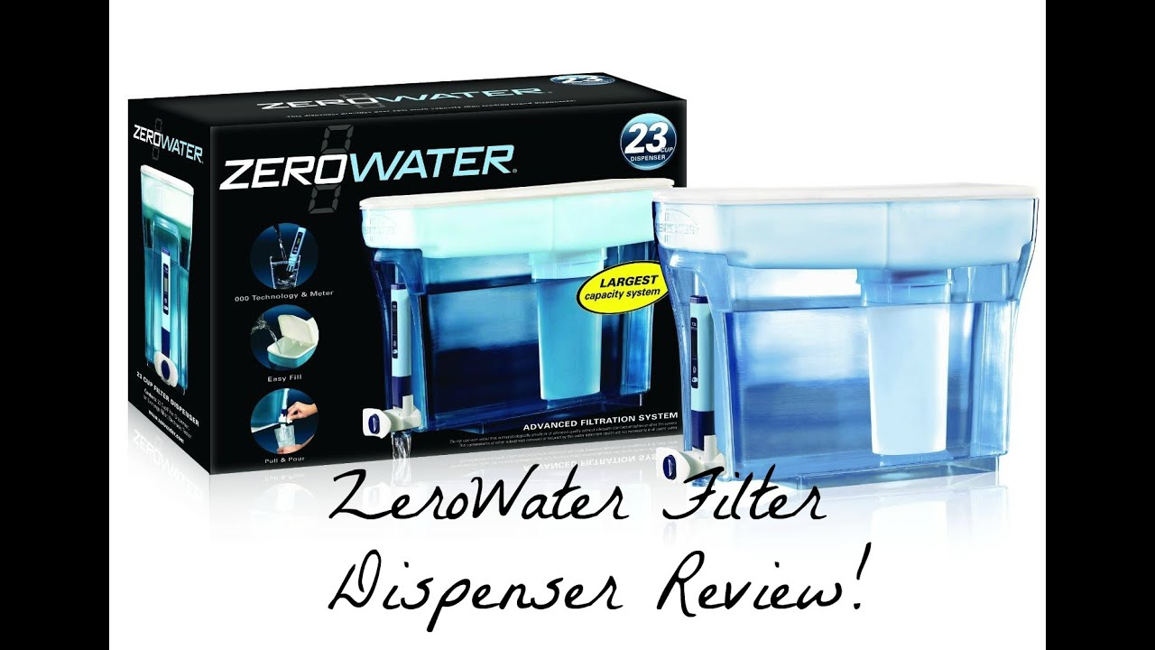Water Filtration Dispenser Zerowater Filtration System Water Dispenser Why Does My Water