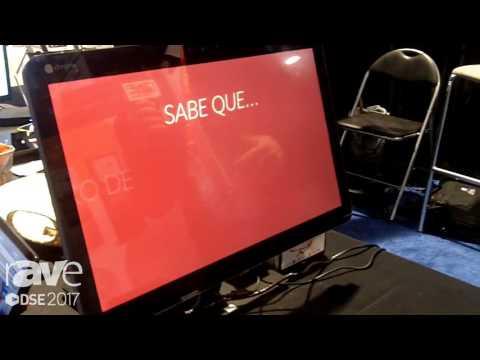 DSE 2017: NoviSign Presents NoviSign Interactive Kiosk