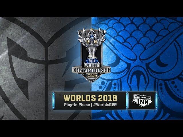 G2 vs SUP – World Championship 2018 | Play-In, Tag 4 - Tiebreaker [GER]