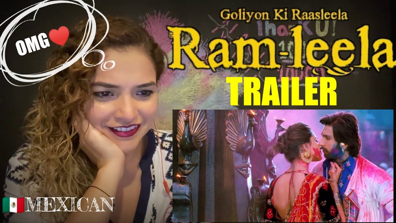FOREIGNER Girl Reacts RAMLEELA Trailer | RANVEER SINGH |DEEPIKA PADUKON bollywood