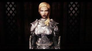 SPOA Silver Knight Armor - Female Version - Skyrim Mod