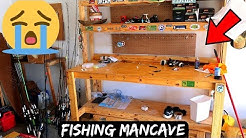 Saying GOODBYE to My Fishing MANCAVE!!! (Moving On)