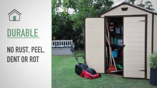 Manor 6x8 | Plastic sheds | Keter