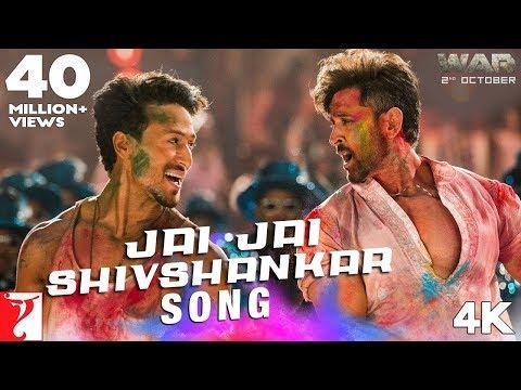 Jai Jai Shivshankar Song  War  Hrithik Roshan  Tiger Shroff  Vishal & Shekhar Ft. Vishal, Benny