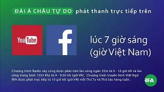 Phát thanh 16/11/2017 © Official RFA Video