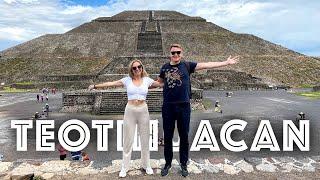 RUSOS VISITANDO PIRAMIDES de TEOTIHUACAN en MÉXICO | VISITAMOS LA CIUDAD DE LOS DIOSES
