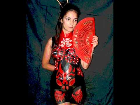 Chinese Body Painting Images