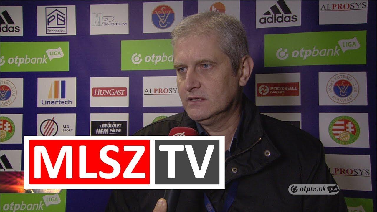 Edzői értékelések a Vasas FC  – Swietelsky Haladás mérkőzésen