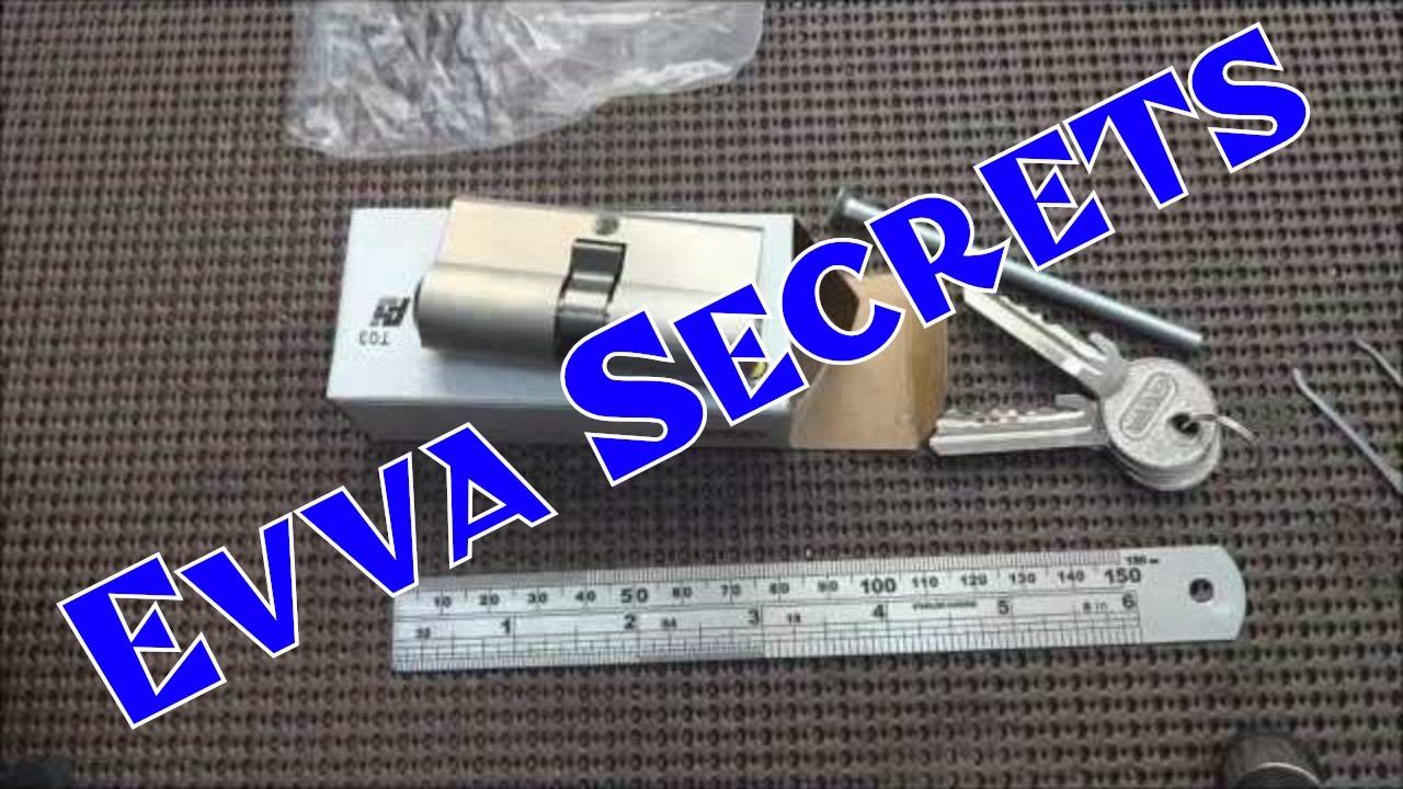 evva 3ks lock picking