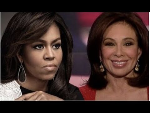 JUDGE JEANINE PIRRO TAKES HUGE RISK EXPOSES MICHELLE OBAMA LIVE ON AIR!