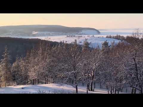Турбаза Звездный Самара. Зима 2019 .