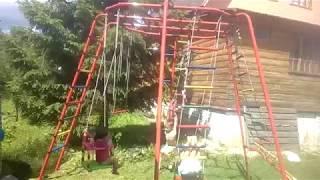 Получили уличный детский спортивный комплекс Формула здоровья Спутник-1Z Плюс(, 2017-09-01T07:05:49.000Z)